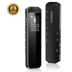 SKYVINE SKYVINE-001 8GB USB Dictaphone with MP3 Player, Smal
