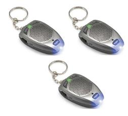 1 Digital Voice Recorder Keychain 10 Seconds Led Flashlight