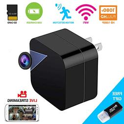 2 in 1 Spy Camera Wifi Wireless Hidden Cam With Audio and US