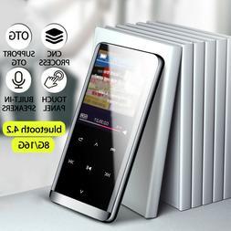 16GB bluetooth MP3 Player HIFI Sport Music Speakers MP4 Medi