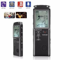 16GB Digital Rechargeable Audio Sound Voice Recorder Pen Dic