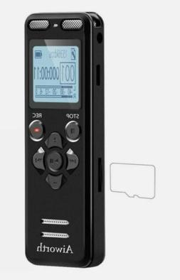 16GB Digital Voice Activated Recorder for Lectures - Aiworth