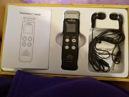 EVISTR 16GB Digital Voice Recorder: new in box, opened box