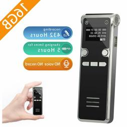 EVISTR 16GB Digital Voice Recorder Voice Activated Recorder