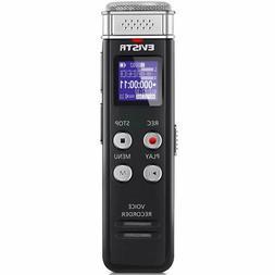 Evistr 16Gb Digital Voice Recorder Voice Activated Recorder