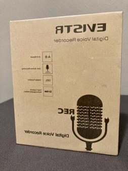 EVISTR 16GB Digital Voice Recorder with Playback NEW