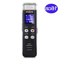 16GB Digital Voice Recorders Activated Playback - 2018 Upgra
