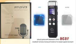 EVISTR 16gb Digital Voice Reorder 1536k Voice Activated Reco