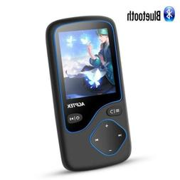 AGPTEK 16GB MP3 Player Bluetooth Portable Lossless with FM R