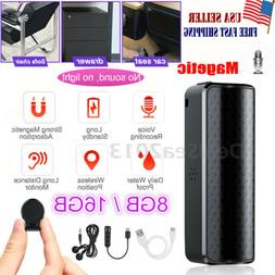16GB Spy Recording Device Voice Activated Recorder Mini Magn