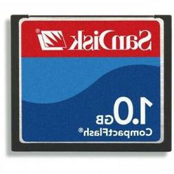 SanDisk 1GB Compact Flash Memory Card