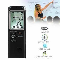 32G Rechargeable Digital Audio Sound Voice Recorder Pen Dict