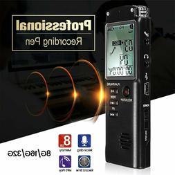 32g rechargeable digital audio sound voice recorder