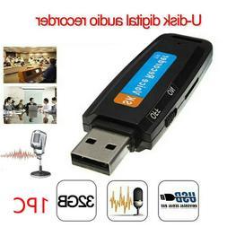 32G Voice Audio Recorder USB Flash Drive Dictaphone USB Flas