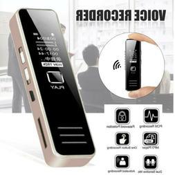 32GB Digital Rechargeable Audio Sound Voice Recorder Pen Dic