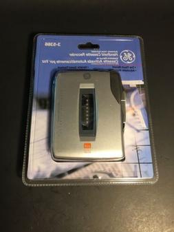 GE 35366 Handheld Cassette Voice Recorder