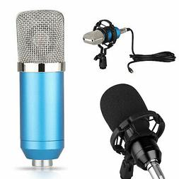 Condenser Microphone Kit Professional Broadcasting Studio Re