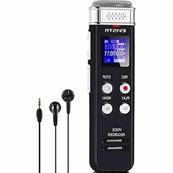 8GB Digital Voice Recorder Activated With Playback - Upgrade