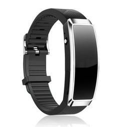 8GB Digital Voice Recorder Wrist Watch Bracelet MP3 Dictapho