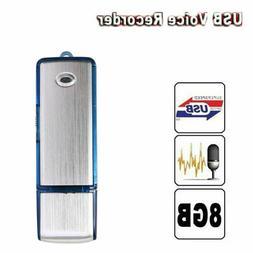 8GB Mini Disk Pen Drive Digital Audio Voice Recorder 150 hrs