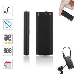 8GB Mini Spy Voice Recorder Audio Activated Listening Device