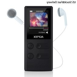 AGPTEK 8GB Mp3 Player with FM Radio/Voice Recorder Solar Pow
