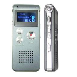 8GB Rechargeable LCD Digital Audio Sound Voice Recorder Dict
