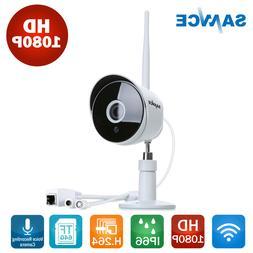 SANNCE Wireless 1080P 2MP IP Camera Security H.264 voice rec