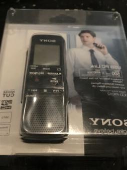 Sony Digital Flash Voice Recorder