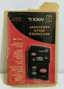 VXI-Voice It VT90 Personal Note Digital Voice Recorder