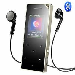 AGPTEK A05ST Bluetooth 4.0 Metal Touch MP3 Player 16GB with