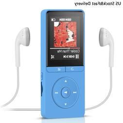 AGPtEK 8GB MP3 Player with FM Radio Voice Recorder 70 hours