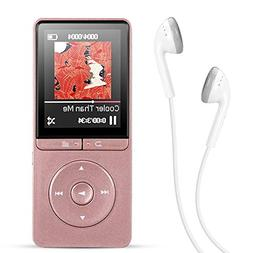 AGPTEK A20 MP3 Player, 8GB Music Player with FM Radio/Voice