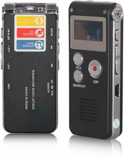 ACEE DEAL Digital Voice Recorder 8GB, Audio Voice Activated