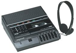 Analog Standard Cassette Recorder/Transcriber Model RR830  C