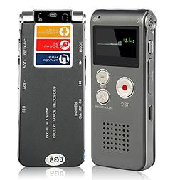 ACEE Deal Digital Audio Voice Recorder with Mini USB Port, 8