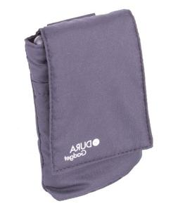 DURAGADGET Black Cushioned Nylon Case Cover Pouch with Belt