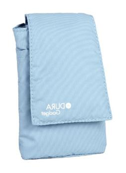 DURAGADGET Blue Cushioned Nylon Case Cover Pouch Compatible