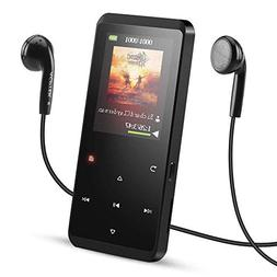 16GB Bluetooth 4.0 MP3 Player with Speaker, AGPTEK Portable