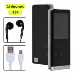 BLUETOOTH MP3 MP4 Music Player Lossless HiFi 4GB With FM Rad