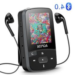 bluetooth mp3 player 16gb supports fm voice