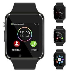 Bluetooth Smart Watch - Aeifond Touch Screen Sport Smart Wri
