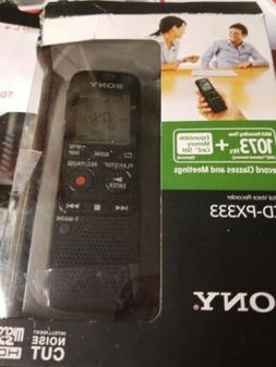 Brand NEW Sony ICD-PX333 Digital Voice Recorder 4GB Internal
