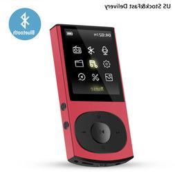AGPTEK MP3 Player Bluetooth 8GB FM Radio HIFI Player Expanda