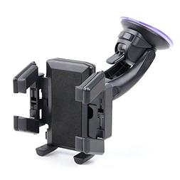 DURAGADGET in-Car Windscreen & Dashboard Suction Mount with