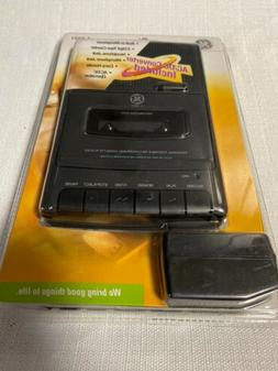 GE Cassette Recorder 3-5027 Personal Portable Player General