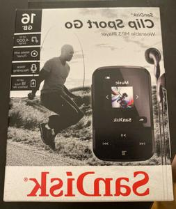 SanDisk - Clip Sport Go 16GB* MP3 Player - Black