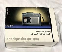Optimus CTR-115 Vox Voice Activated Cassette Tape Recorder P