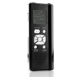Coby CXR190-4G Digital Voice Recorder with Integrated Speake