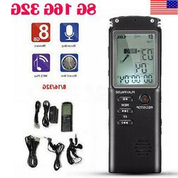 Digital Audio Sound Voice Recorder Pen Dictaphone MP3 Player